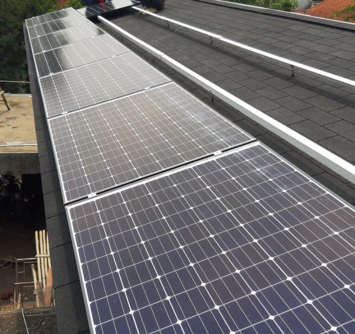 installasi solar panel cilaki